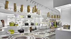 Versace Miami Design District features women and mens ready-to-wear, handbags, shoes, accessories and home. Versace Miami, Versace Store, Miami City, Luxury Store, Donatella Versace, Fashion Labels, Parisian Style, Interior Ideas, Lighthouse