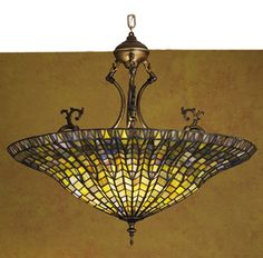 Meyda Tiffany Fishscale Inverted Chandelier MT-30993 $696.60