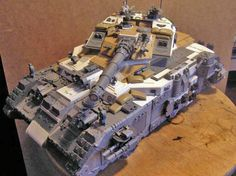 Many, many, Land Raiders died to make Thor, the biggest Space Marine Tank? Come see this Astartes Super Heavy!