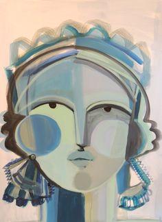 Artist Spotlight Series Hayley Mitchell The English Room Woman Painting Amazing Art