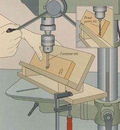 Build A Pocket-Hole Jig for Drilling Pocket Holes Easily --- I definitely need to do this! #woodworkingtips