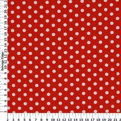 View White Dots on Red Cotton Fabric, and more of our Absolutely Cotton Quilting Prints. Shop our huge selection of thread and fabric, enjoy savings with sales and coupons!