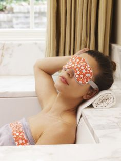 Sew a Spa eye mask a