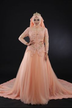 New Arrival by LAKSMI - Kebaya Muslimah & Islamic Wedding Service - 018 Muslim Wedding Gown, Wedding Gowns, Sixpack Women, Muslimah Wedding, Kebaya, Hijab Fashion, Bridesmaid Dresses, Clothes For Women, Hijabs