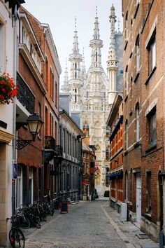 vintage and french - wanderlusteurope:     Leuven, Belgium