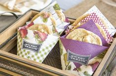 Sara Douglass shared these darling treats on Good Things Utah. They really showcase the Farmer's Market DSP