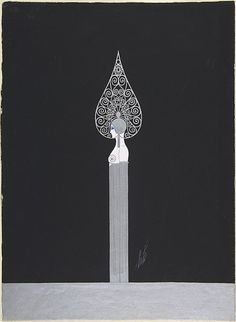 Erté, Costume design for George White's Scandals