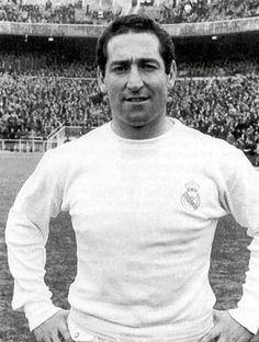 Paco Gento - Jugador de Racing de Santander y Real Madrid y de la selección española