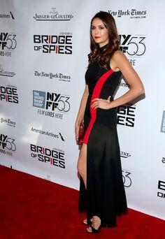Nina Dobrev Photos - 53rd New York Film Festival - 'Bridge of Spies' - Arrivals - Zimbio