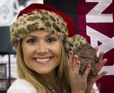 #Chocolate #Santa and @Cerretanews #CerretaCandyCo #Glendale #Arizona