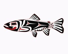 fish art | Haida Trout Digital Art by Rob Tullis - Haida Trout Fine Art Prints ...