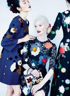 Kwak Ji Young byErik Madigan Heck for Harper's Bazaar UK August 2014