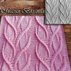 Beautiful 4 Rows knitting stitch pattern for cardigans Cable Knitting, Knitting Books, Sweater Knitting Patterns, Knitting Charts, Knitting Stitches, Knitting Designs, Knit Patterns, Hand Knitting, Stitch Patterns