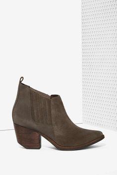 Nasty Gal Bandido Suede Bootie - Shoes