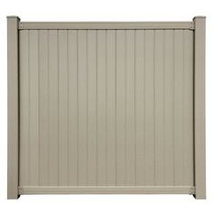 Zippity Outdoor Products 4 ft. H x 3 ft. W Huntersville Privacy Screen   Wayfair Metal Fence Panels, Privacy Fence Panels, Garden Fence Panels, Patio Fence, Patio Decks, Garden Fences, Driveway Gate, Backyard Landscaping, White Vinyl Fence