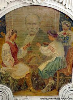 Soviet Socialist Realism On the Subway Murals | English Russia