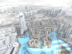 Dubai, uitzicht vanaf de Burj Kalifa Dubai, City Photo, Viajes, Hilarious, Money