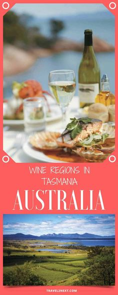 Wine regions in Tasmania – Australia's coolest wine trail. It's time to explore wine regions in Tasmania along Australia's coolest wine trail.