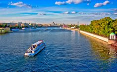 Moscow River Boat Tours (Russia). 'Avoid traffic jams, feel the breeze on your face and get a new perspective on the city's most famous sights when you see them from one of the ferry boats that ply the Moscow River.' http://www.lonelyplanet.com/russia/moscow
