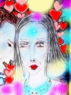 love ~ crystal Art