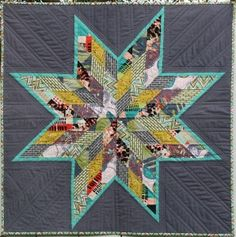 I finished my Scrappy Lone Star Quilt this week! I made it for the North Bay Modern Quilt Guild Challenge. We were asked to make a quilt that demonstrates what modern means to us and also to try s… Lone Star Quilt, Star Quilt Blocks, Star Quilt Patterns, Star Quilts, Scrappy Quilts, Mini Quilts, Baby Quilts, Patchwork Quilting, Block Patterns
