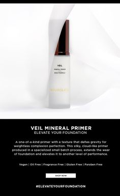 Exclusive Offer | Elevate Your Foundation With Veil Mineral Primer Primers, Moisturizers, Mattifying Primer, Hourglass, Coupon Codes, Veil, Minerals, Foundation, Hourglass Body