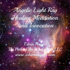 Angelic Light Ray Healing Meditation and by WhiteRosePath on Etsy Available on CD or download it instantly on www.whiterosepath.com/store