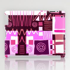 Ethnic in pink iPad Case by clemm - $60.00
