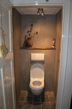 Small room, forgotten space, ignored place, and wasted a part of home but important room that is bathroom. Then in there are more important thing and useful, that is a closet toilet. In urban era toilet has been made over… Continue Reading → Small Toilet Room, New Toilet, Small Bathroom, Bad Inspiration, Bathroom Inspiration, Cloakroom Toilet Downstairs Loo, Toilet Closet, Bathroom Closet, Wc Decoration
