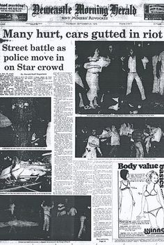 In 1979 police battled 4,000 rioters in Newcastle angry at the closure of the city's Star Hotel pub. | 33 Bizarre Facts That Prove Australia Is Batshit Insane