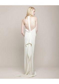 3 1 Phillip Lim Dress Wedding T Back White Gown Leopard Capelet Size 2