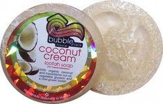 Bubble Shack Hawaii  Coconut Cream Loofah Lather Glycerin Soap - Lilly's Bathcarry