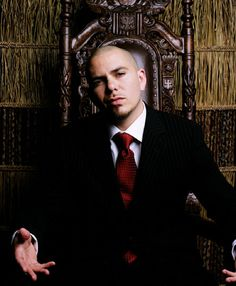 Pitbull.... Something about him and his music just makes me smile :)