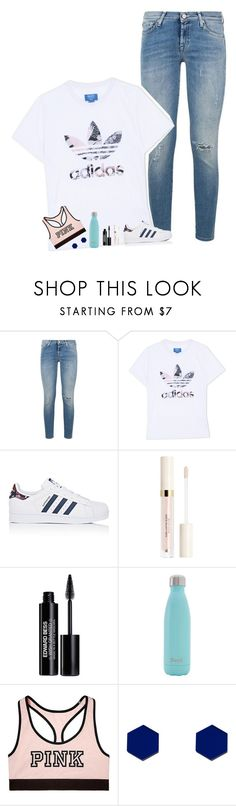 """i really want to go shopping"" by pineapple5415 ❤ liked on Polyvore featuring 7 For All Mankind, adidas Originals, adidas, Edward Bess, S'well, Victoria's Secret and Wolf & Moon"