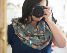 Easy DIY Infinity Scarf - with just a yard of fabric! {tutorial} — SewCanShe   Free Daily Sewing Tutorials