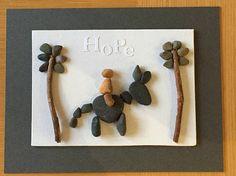 Items similar to Palm Sunday - Jesus Riding Donkey - Easter Pebble Art on Etsy Christmas Gifts, Christmas Decorations, Holiday, Palm Sunday, Church Crafts, Pebble Art, Donkey, Homemade Gifts, Easter Card