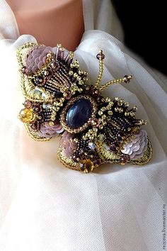 """Butterfly Brooch """"Zhanette"""" http://www.livemaster.ru/item/4306933-ukrasheniya-brosh-babochka-zhanette"""