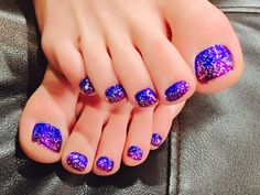 Purple Toe Nails, Purple Toes, Pedicure Nails, Diy Nails, Nails On Fleek, Nail Designs, Make Up, Beauty, Nail Desighns
