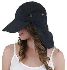 ec9b52b3 ToBeInStyle Women's Neck Protector Peaked Cap Desert Summer Hat Peaked Cap,  Fashion Hats, Summer