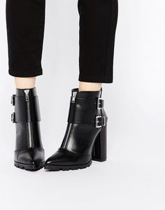 ASOS Evidence Pointed Ankle Boots