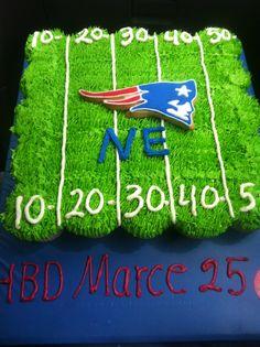 Pastel de New England Patriots #cake #pats #patriots NFL