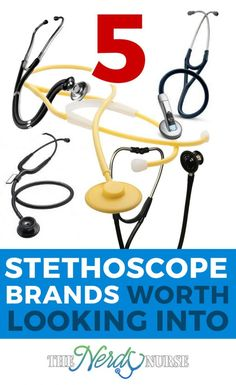 If the number of stethoscopes available on the market seems daunting, you're not alone. So let's look at 5 stethoscope brands worth checking out.