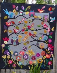 Spring Tree Quilt, someone make this for me