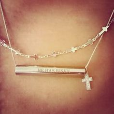 """In{script}ions Hexogram, Core """"He strengthens me"""", Core chain and Cross chain. #inscriptions #personalizedjewelry #faith https://lifecaptured.origamiowl.com/"""