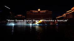 Water Screen Digital Show by Shochiku x teamLab