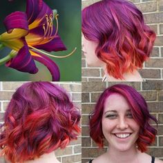 Hair Color How To: Fuchsia Flower by Amber Kelley | Beauty Launchpad