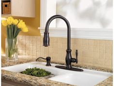 Costco Fontaine Chloe Pull Down Kitchen Faucet  Our Forever Classy Costco Kitchen Faucet Review