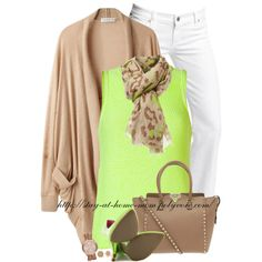 """Oversized Cardigan"" by stay-at-home-mom on Polyvore"