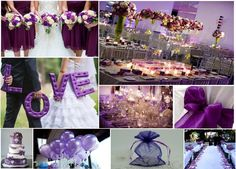 #Purpurfarvet Passion #Bryllup #tema!