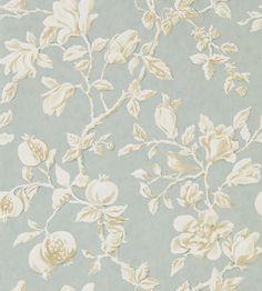 Magnolia & Pomegranate Wallpaper by Sanderson | Jane Clayton